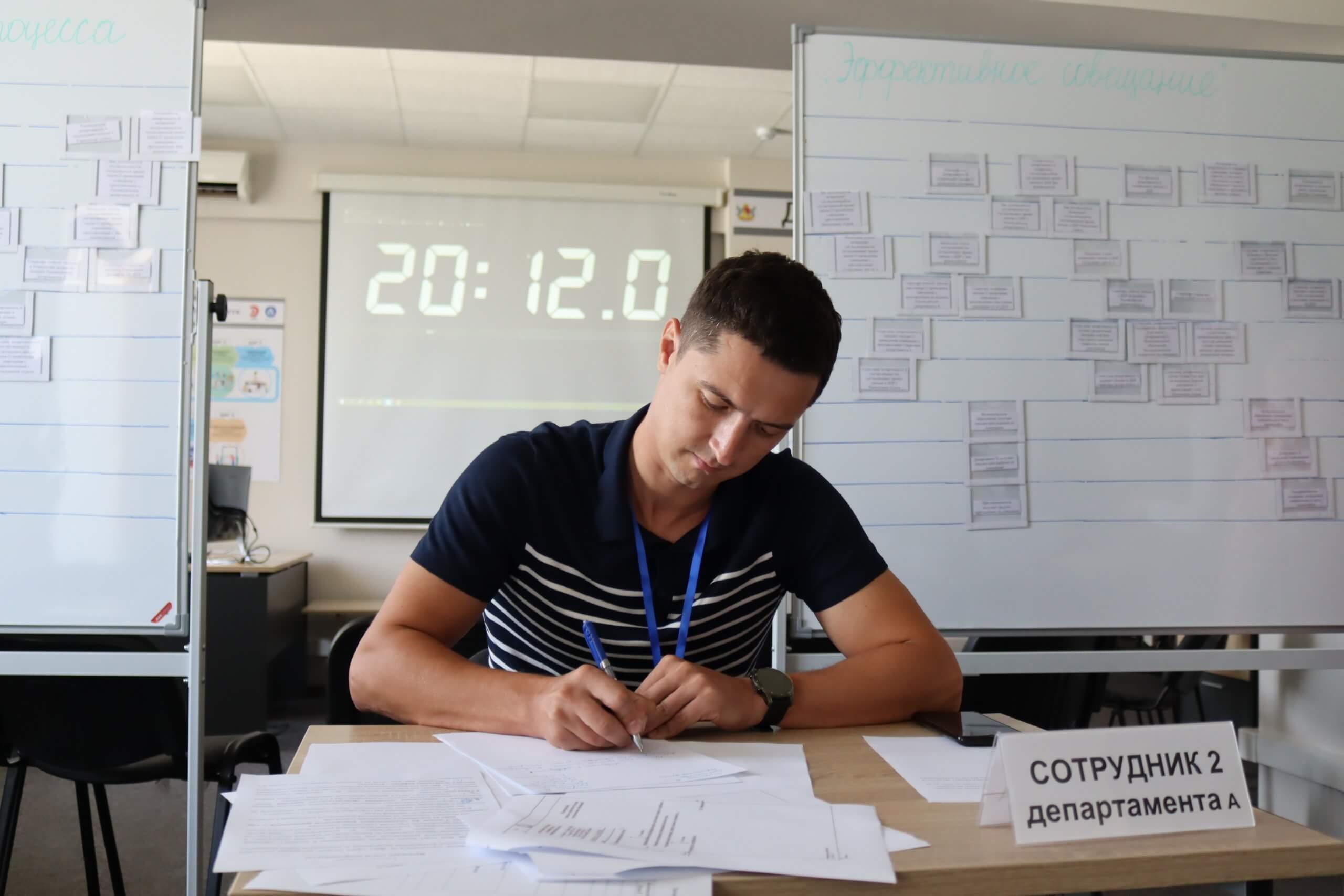 Обучение сотрудников фонда капитального ремонта Воронежской области бережливому управлению
